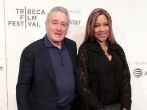 Robert De Niro and Grace Hightower at Showtime's world premiere of The Fourth Estate at Tribeca Film Festival Screening 2018