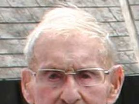 Ron Easton, 102, died after getting stuck on his roof for three days. Pic: Apex
