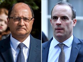 Shailesh Vara and Dominic Raab