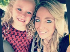 Traci Redford and her daughter Abcde. Pic: ABC News