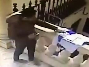 Thief at Thai embassy in London