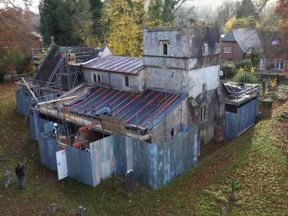 The 13th century Church of St Michael's in Tidcombe was targeted last month