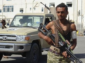 The Yemeni pro-government forces have been fighting the Houthi rebels for four years