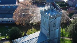 church roofs being stolen