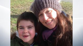 Alfie who requires cannabis treatment and his mother