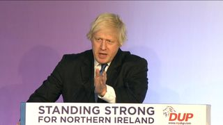 Boris Johnson: 'We're witnessing the birth of a new country'