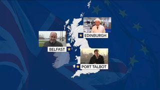 We've been talking to people in Port Talbot, Belfast and Edinburgh about how Brexit will affect them.