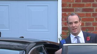 Dominic Raab was asked if he intends to resign