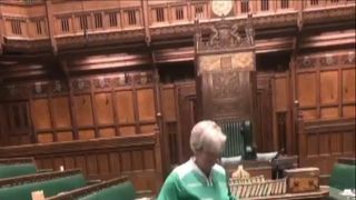SNP Hannah Bardell and other members of the Womens Parliament Football Club couldn't get to the pitch due to a votes in the House.