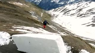 Freestyle skiers tackle extraordinary challenge in northern Italy