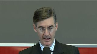 Jacob Rees-Mogg insists that sending letters of no confidence in the Tory leader to Sir Graham Brady does not constitute a 'coup'.