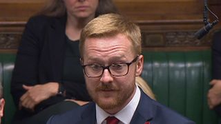 Labour MP Lloyd Russell-Moyle reveals his HIV status to the House of Commons