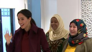 Duchess of Sussex visits Hubb Community Kitchen in London