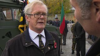 Ian Robertson marked the anniversary at the Menin Gate