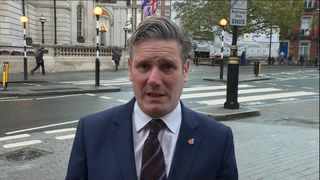 Sir Keir Starmer speaks to Sky News