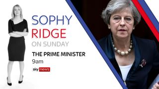 Sophie Ridge exclusive interview with the Prime Minister Theresa May.