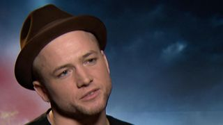 Star of Robin Hood Taron Egerton  talks about the physical pressures of being an action hero