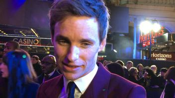 Eddie Redmayne talks to Sky News from the red carpet of the latest film in the Fantastic Beasts franchise.
