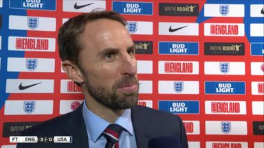 Southgate excited by positives