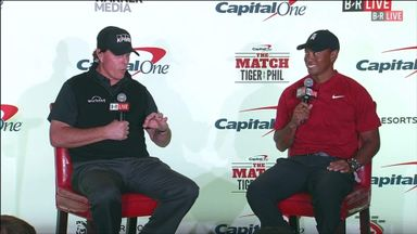 Tiger and Phil's $200k bet