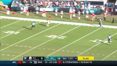 Brown's 78 yard TD for Steelers
