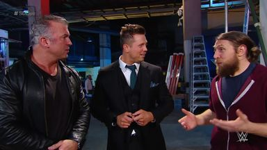 The Miz picks Shane McMahon