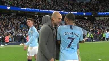 Pep explains Sterling confrontation