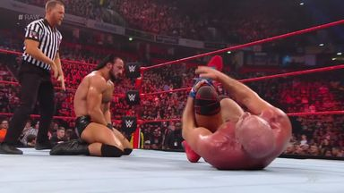 McIntyre punishes Angle in Raw main event