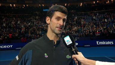 Djokovic continues to impress