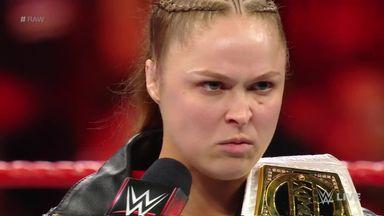 Ronda Rousey demands a challenger