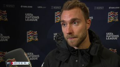 Eriksen: Ireland scared to attack