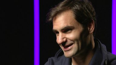 Federer: Happy to be here