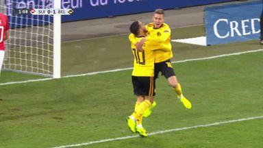 Elvedi blunder gifts Hazard a goal