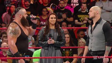Strowman to face Corbin in TLC match