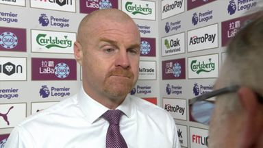 Dyche frustrated with defeat
