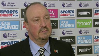 Benitez credits players after win