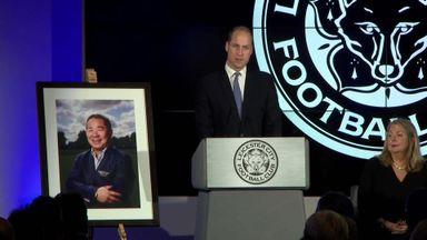 Prince William pays tribute to Vichai