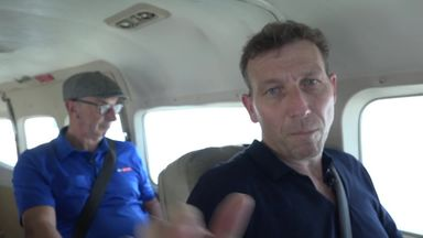 Bumble and Athers take the seaplane!