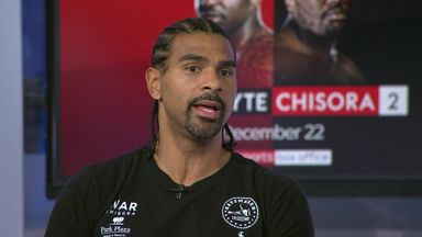 Haye: Chisora has pushed to his limit