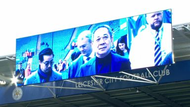 Leicester's touching Vichai tribute