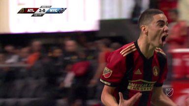 Red Bulls, Atlanta progress in MLS