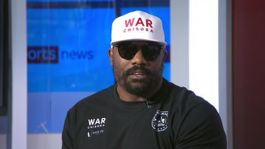 Chisora: Haye has made me better