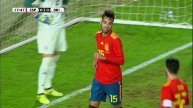 Spain 1-0 Bosnia & Herzegovina