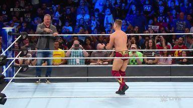 The Miz looks to impress Shane McMahon