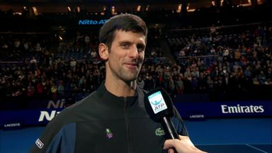 Djokovic: Glad to reach another final