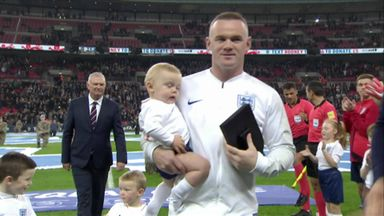 Rooney's special presentation