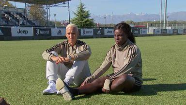 Aluko, Sanderson on life at Juventus