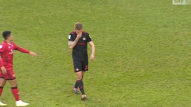 Power's three straight red cards