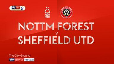 Nott'm Forest 1-0 Sheffield Utd