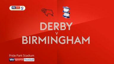 Derby 3-1 Birmingham